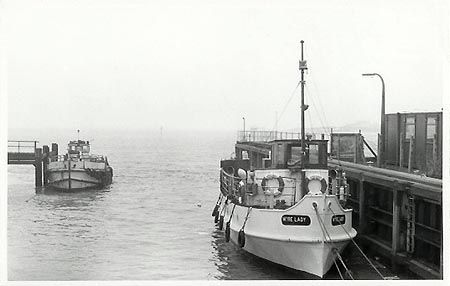 The Wyre Lady at Fleetwood Ferry terminus 1971