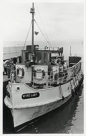 The Wyre Lady at Fleetwood Ferry 1975